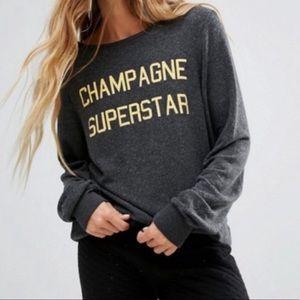 NWT Wildfox Champagne Superstar